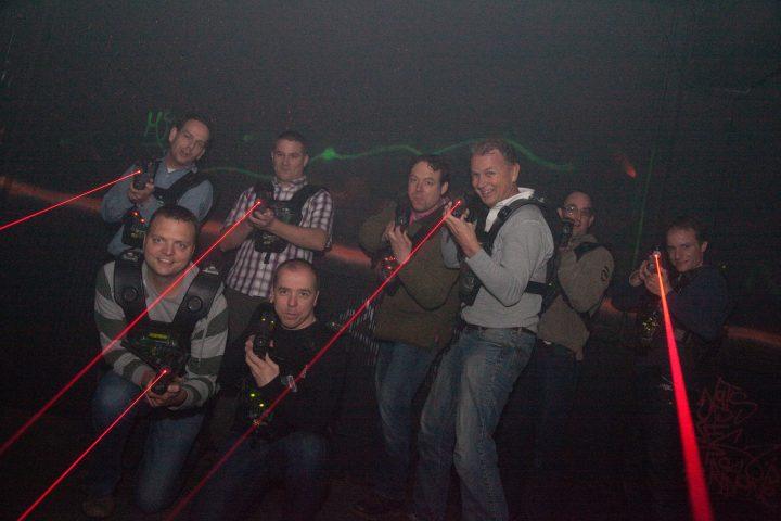 Lasergame bij Fursten Forest met korting   Voordeeluitjes van NapPas