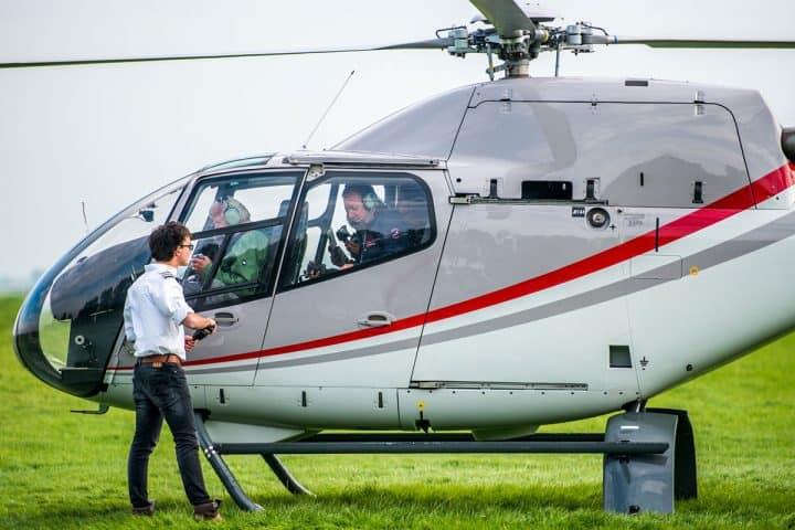 Vliegen met helikopter in Gouda met korting | Voordeeluitjes van NapPas