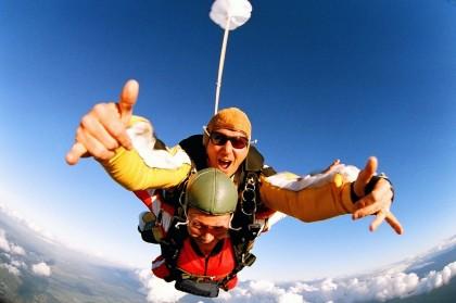 skydive met korting