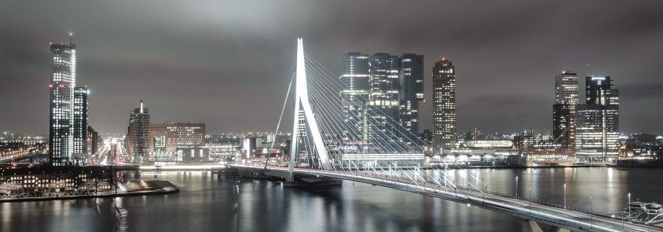 Bezoek aan Rotterdamse Skyline Nappas