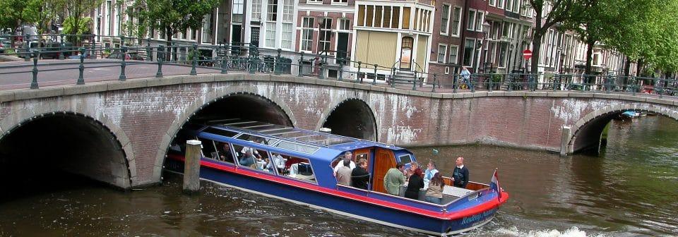 Korting rondvaartboot Amsterdam Nappas