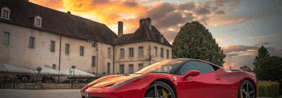 Ferrari rijden met korting